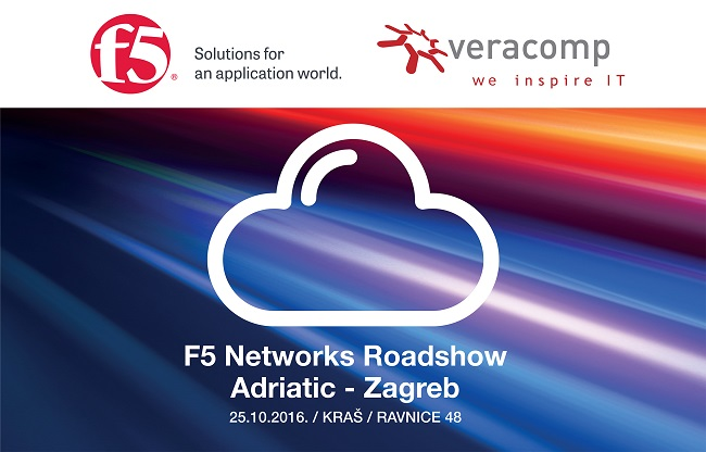 Save The Date For F5 Networks Roadshow 2016 Veracomp